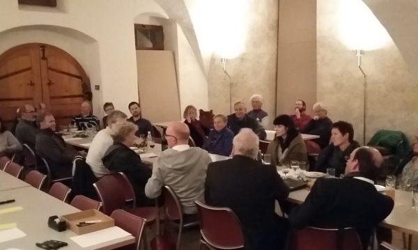 Termin-Reservation: der nächste Runde Tisch findet am 2. November in Eglisau statt